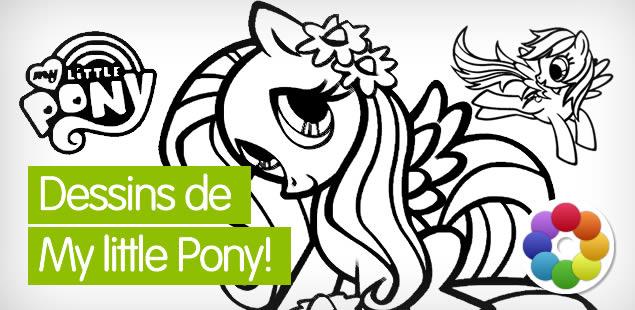 Dessins pour colorier en ligne gratuits - Coloriage en ligne my little pony ...