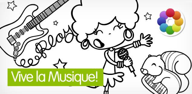 Dibujos de Música