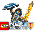 <span class='hidden-xs'>Coloriages de </span>LEGO Nexo Knights à colorier