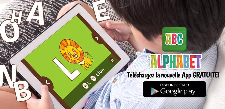 L'Alphabet pour enfants App
